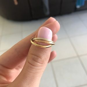 Authentic Cartier Trinity Ring - XS
